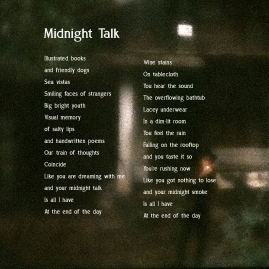 NEW MIDNIGHT TALK UPDTED