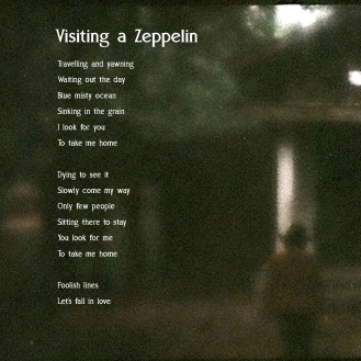 visiting a zeppelin
