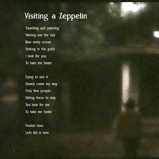 visiting a zeppelin